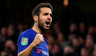 Spanish midfielder Cesc Fabregas signed for Chelsea from Barcelona in June 2014
