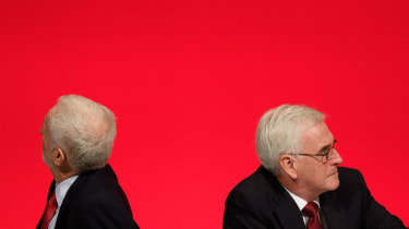Jeremy Corbyn and John McDonnell at Labour conference