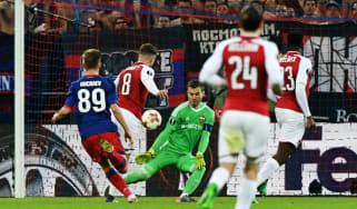 Arsenal Europa League goals Aaron Ramsey