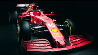 Ferrari unveils the SF21