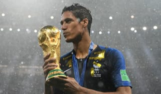 Real Madrid defender Raphael Varane won the 2018 World Cup with France