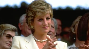Princess Diana pictured in 1995