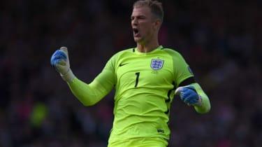 Joe Hart England goalkeeper