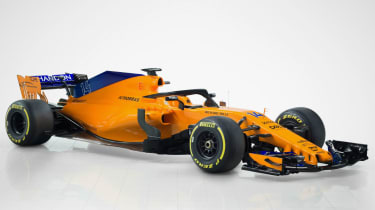 McLaren MCL33 car launch F1 2018