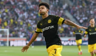 England winger Jadon Sancho has impressed in Germany for Borussia Dortmund