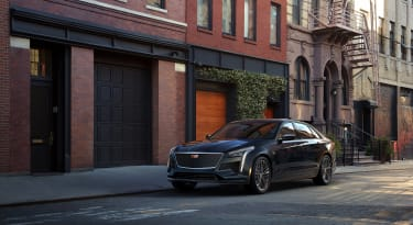 Cadillac introduces the first-ever 2019 CT6 V-Sport, boasting an estimated 550-horsepower twin-turbo V-8 and design language inspired by the Escala Concept.