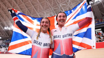Laura Kenny and Katie Archibald