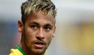 Brazil's forward Neymar
