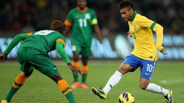 World Cup superstars, Neymar