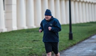 boris johnson running