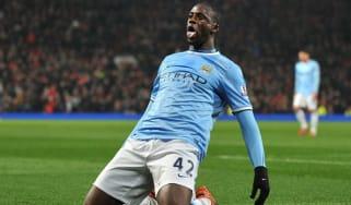 Manchester City's Ivorian midfielder Yaya Touré