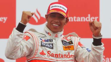 Lewis Hamilton F1 McLaren Williams