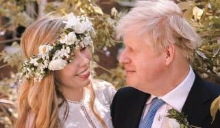 Carrie and Boris Johnson