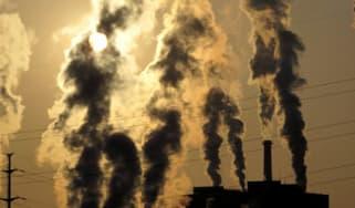 Smokestack; climate change