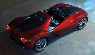 The Ferrari Sergio concept car