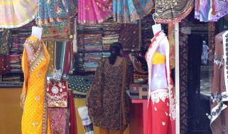 India clothes shop