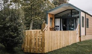 Stargazer lodges at Blaithwaite Country House Estate
