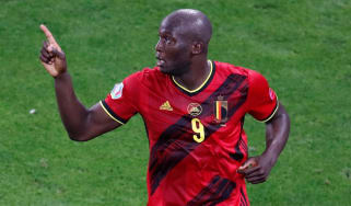 Belgium striker Romelu Lukaku has scored three goals so far at Euro 2020