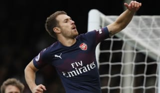 Wales midfielder Aaron Ramsey is out of contract at Arsenal at the end of the season