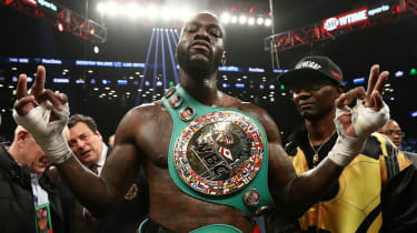 Undefeated American boxer Deontay Wilder is the reigning WBC heavyweight champion