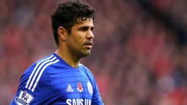Diego Costa of Chelsea