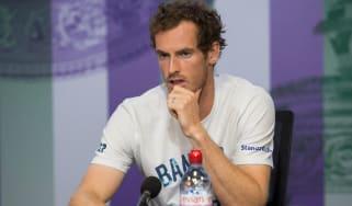 Andy Murray Wimbledon 2017