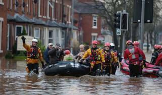 Storm Desmond flooding, Carlisle