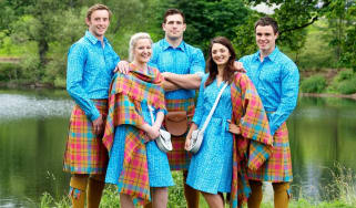 Team Scotland's kit for the Commonwealth Games in Glasgow