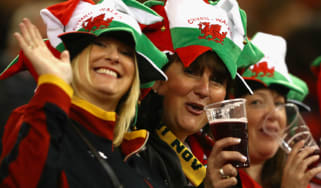 Wales rugby union Principality Stadium drinking