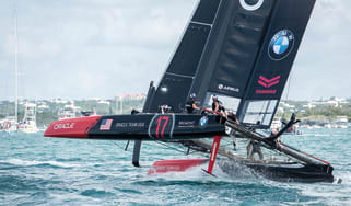 Oracle Team USA's AC45 sail wing