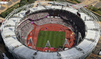 London's 2012 Olympic Stadium is now home to Premier League side West Ham