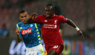 Liverpool striker Sadio Mane is fit to start against Napoli in the Champions League clash at Anfield