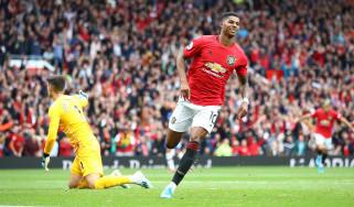 Marcus Rashford Man Utd vs Chelsea