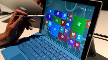 The new Microsoft Surface Pro 3 tablet with detachable keyboard
