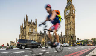Commuter cycling in London