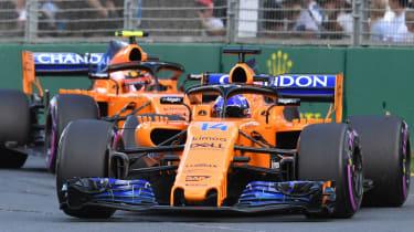 Fernando Alonso McLaren Formula 1 F1