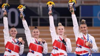 Team GB women's team gymnastics