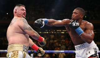 British heavyweight boxer Anthony Joshua fights world champion Andy Ruiz Jr on 7 December