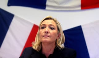 Leader of French far-right Front National (FN) party Marine Le Pen