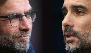 Liverpool vs. Man City Premier League Jurgen Klopp Pep Guardiola