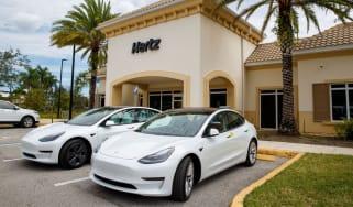 Hertz has ordered 100,000 Tesla Model 3s