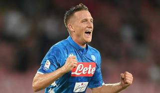 Piotr Zielinski Arsenal transfer news Napoli