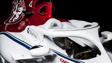 Alfa Romeo Sauber F1 car launch C37 2018