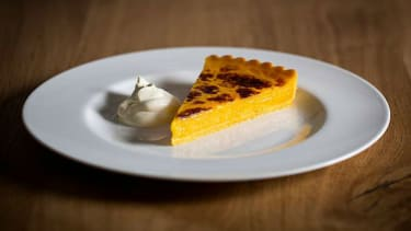 Amalfi lemon tart recipe by executive chef Theo Randall at the InterContinental London - Park Lane