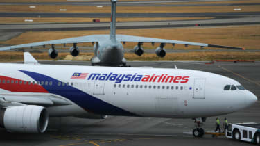A Malaysia Airlines Boeing 777 of the type used for flight MH370