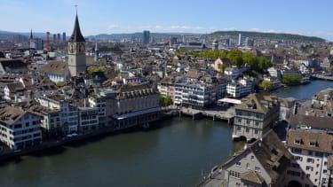 The Swiss city of Zürich
