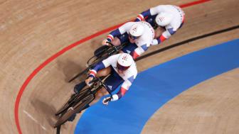 Cycling Team GB men sprint