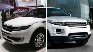 LandWind X7 and Range Rover Evoque