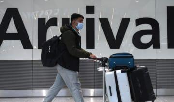 Heathrow Terminal 5 passenger