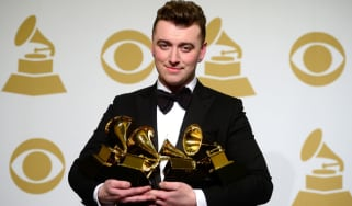 Sam Smith at the Grammy Awards